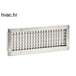 Aluminijska ventilacijska rešetka 300x100