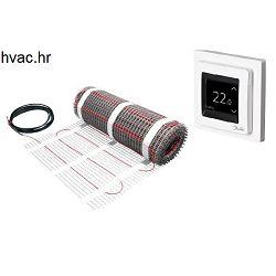Električno podno grijanje 1 m2 - DANFOSS Ecmat 150 T sa termostatom Ectemp Touch