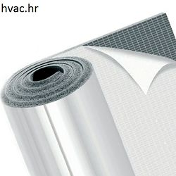 Izolacija debljine 12 mm samoljepljiva na aluminijskoj foliji  DUCT K-FLEX ALU