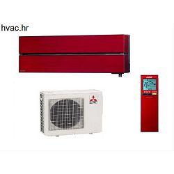 Klima uređaj 2,5 kW - MITSUBISHI De Luxe MSZ-LN/MUZ-LN - crveni
