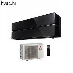 Klima uređaj 2,5 kW - MITSUBISHI De Luxe MSZ-LN/MUZ-LN -  crna