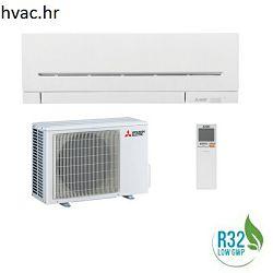 Klima uređaj 2,5 kW - MITSUBISHI SUPER INVERTER - R32