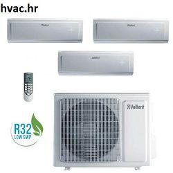 Klima uređaj s 3 unutarnje jedinice -VAF 8-080 W4NO KLIMA , Trial