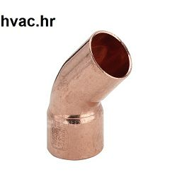 Bakreno (Cu) koljeno fi 15 mm, 45° MŽ