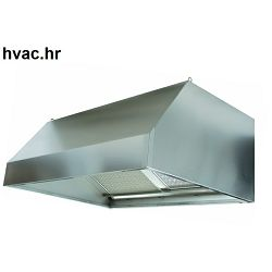 Kuhinjska napa 1000X1000X450 zidna ravna WHG