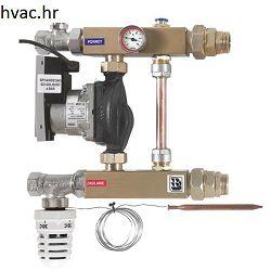 Miješajući pumpni set za podno grijanje