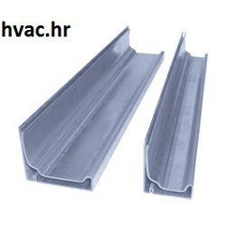 Profil SB 20 mm  (prirubnica) za spajanje kvadratnih ventilacijskih kanala