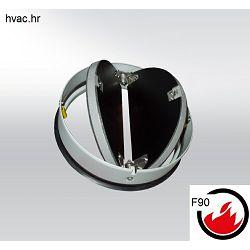 Protupožarna nepovratna klapna fi 100 , F90