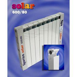 RADIJATOR LIPOVICA SOLAR 600/80, 175 W / aluminijski članak