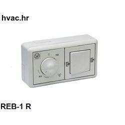 Regulacija brzine vrtnje ventilatora REB - R1