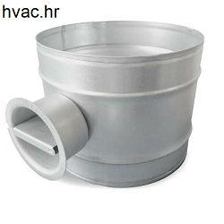 Ručna zaklopka fi 100 za ventilaciju