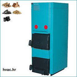 Toplovodni kotao na drva sa spremnikom 35 kW  CENTROMETAL EKO-CK P