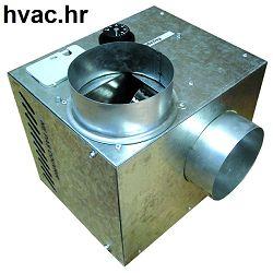 Ventilator fi 160 za distribuciju toplog zraka iz kamina