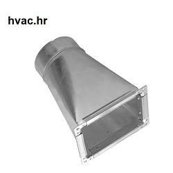 Ventintilacijski prijelaz  200x100 - fi 100