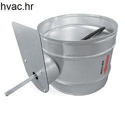 Zaklopka fi 100 za ventilaciju