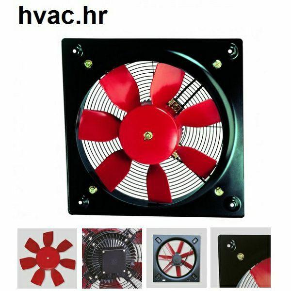 Aksijalni zidni ventilator  HCFB/4-400H