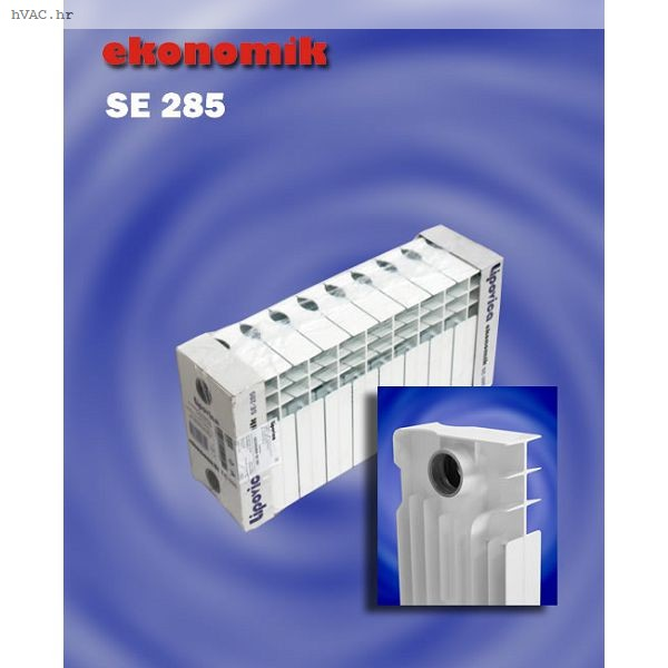 Aluminijski radijator, članak 200 mm - LIPOVICA E 285 (88 W)