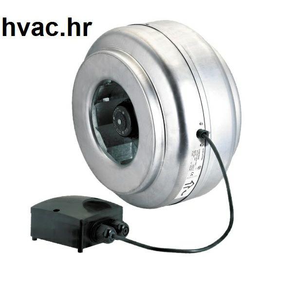 Cijevni ventilator fi 315  ENT-315NK