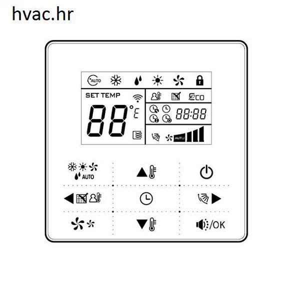 Digitalni zidni termostat za zidne i kasetne ventilokonvektore VA 1-WC WK