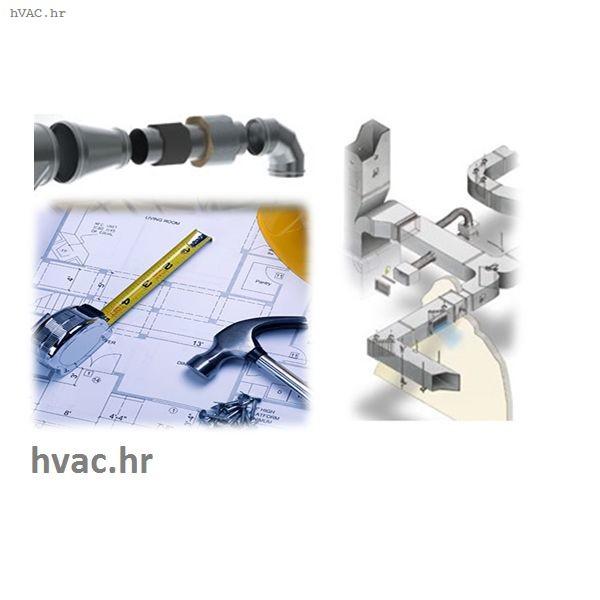 Izvođenje ventilacijskih sustava
