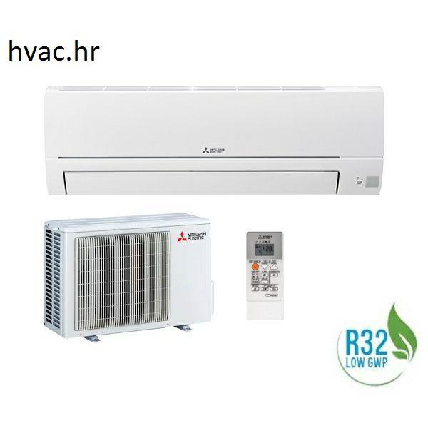 Klima uređaj 2,5 kW - MITSUBISHI STANDARD ECO INVERTER - R32