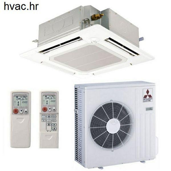 Klima uređaj s unutarnjom kazetnom jedinicom 4,6 kW - MITSUBISHI SLZ-KF/SUZ