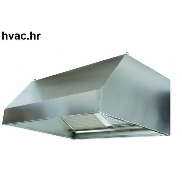 Kuhinjska napa 1200X1000X450 zidna ravna WHG
