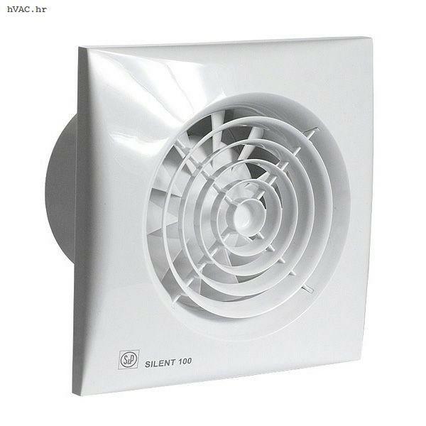 Kupaonski ventilator SILENT-100 CRZ Series
