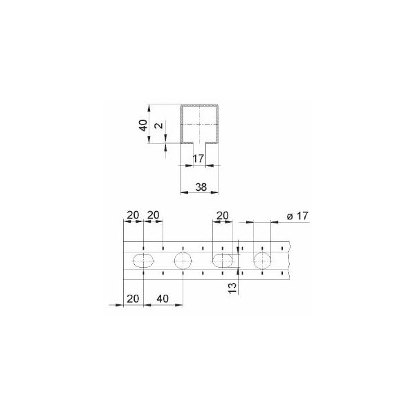 MPC Profil 38/40 2m