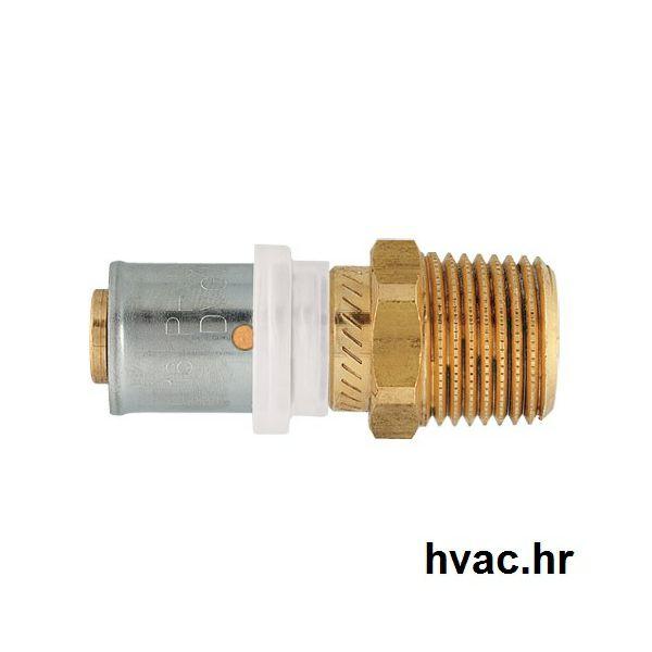 Press prijelaz za Pex Alu Pex cijev fi 16 mm x 1/2