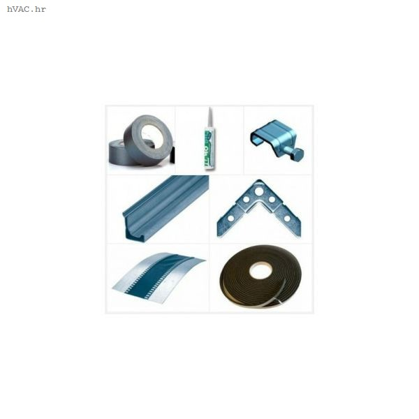 Profil SB 30 mm (prirubnica) za spajanje kvadratnih ventilacijskih kanala -