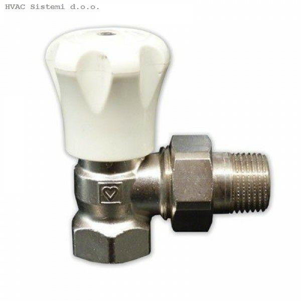 Radijatorski ventil kutni 1/2 - HERZ
