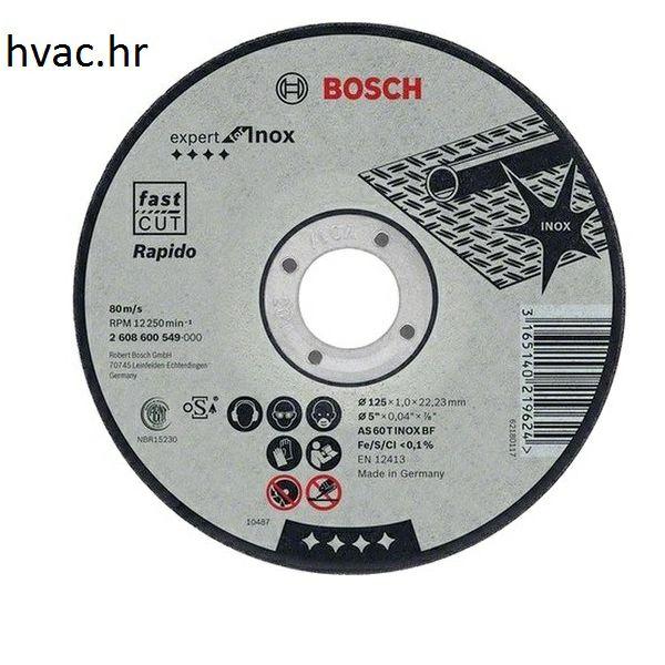 Rezna ploča 115x1x22 za Inox - Bosch ( 25 komada)