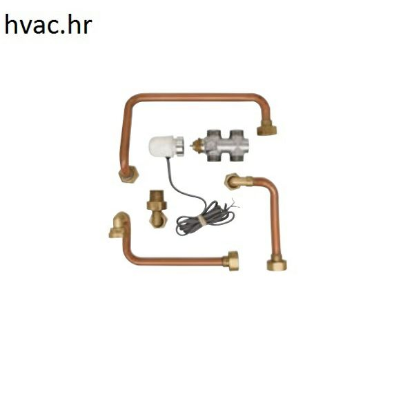 Set za spajanje za parapetne ventilokonvektore - lijevi priključak VA 1-3VW C
