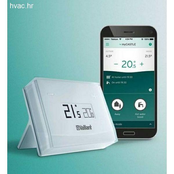 Sobni termostat VAILLANT eRELAX - digitalni, upravljanje putem mobilnog uređaja