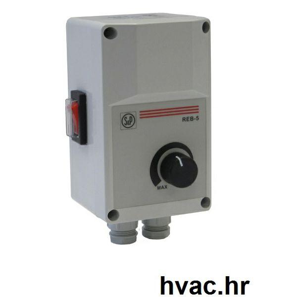 Regulacija brzine vrtnje ventilatora REB-5