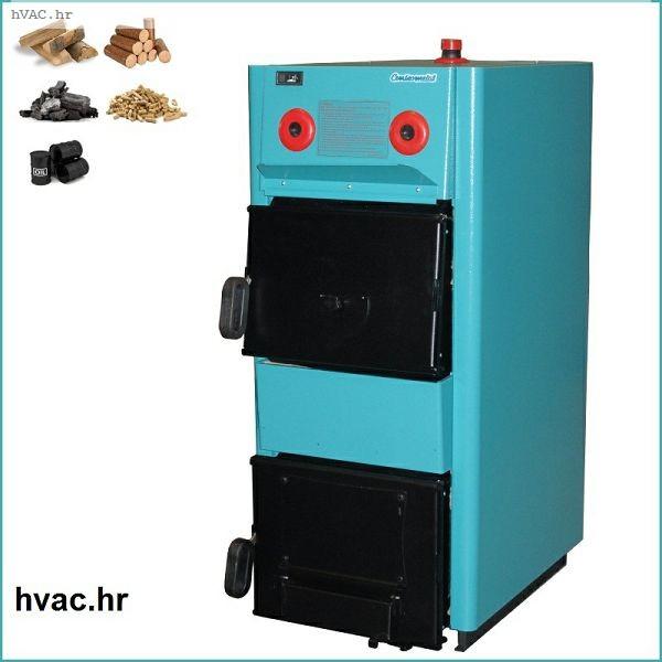 Toplovodni kotao na drva 30 kW - CENTROMETAL EKO-CK P