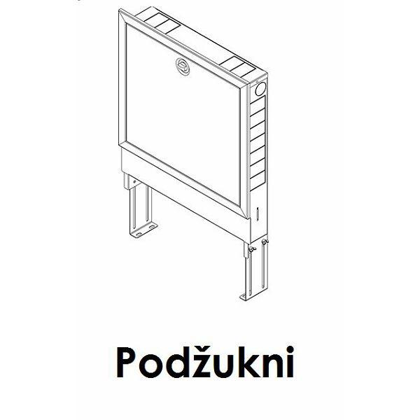 Ormarić za razdjelnik, do 8 krugova - UNI 750 (748 x 705 x 110 mm)