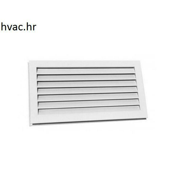 Venitlacijska rešetka za ugradnju u vrata 400x100